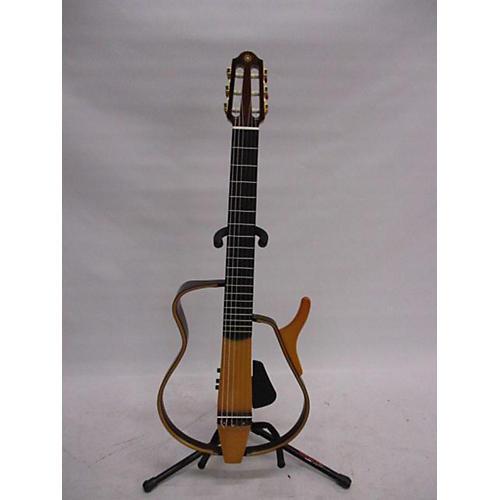 used yamaha slg120nw electric guitar natural guitar center. Black Bedroom Furniture Sets. Home Design Ideas