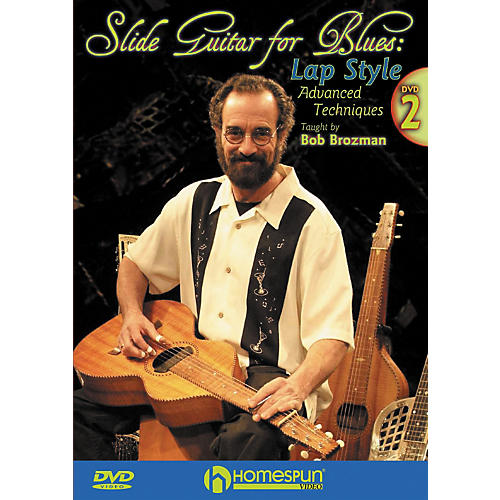 Homespun Slide Guitar for Blues Lap Steel DVD 2 with Tab