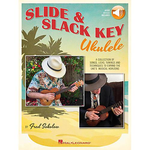 Hal Leonard Slide & Slack Key Ukulele Book/Audio Online