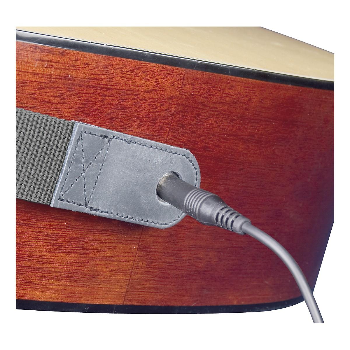 Neotech Slimline Acoustic Guitar Strap - End Pin Jack Version Long