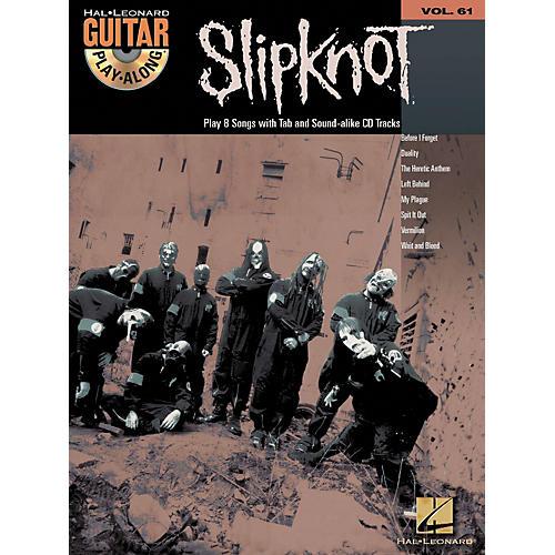 Hal Leonard Slipknot Guitar Play-Along Series Book with CD