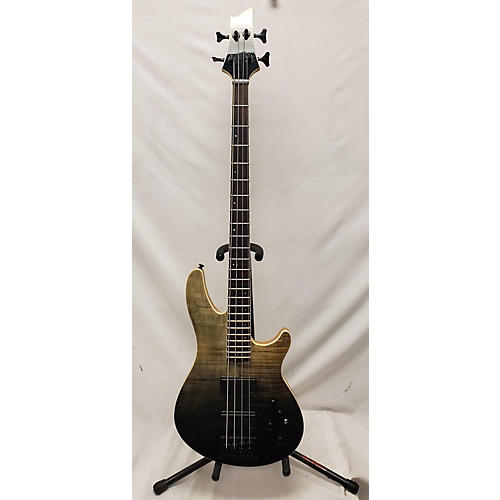 used schecter guitar research sls ellite 4 electric bass guitar black fade burst guitar center. Black Bedroom Furniture Sets. Home Design Ideas
