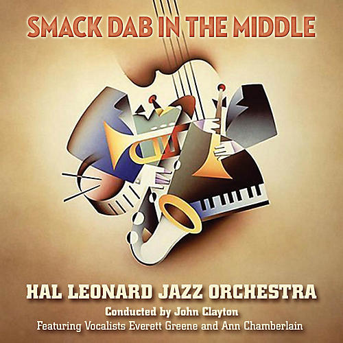 Hal Leonard Smack Dab in the Middle Jazz Band Level 5 Arranged by Sammy Nestico