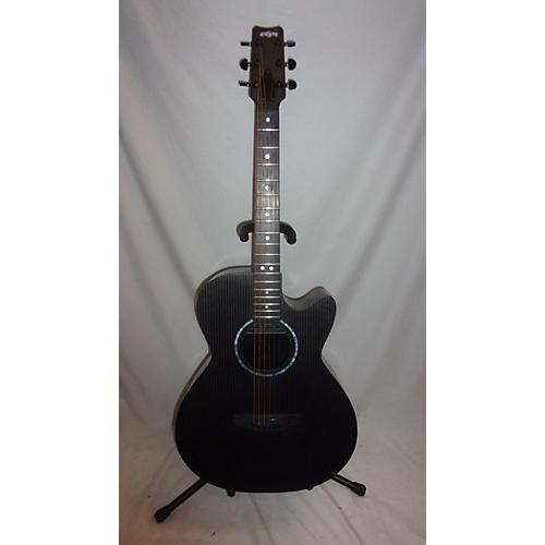 used rainsong smh acoustic electric guitar black guitar center. Black Bedroom Furniture Sets. Home Design Ideas