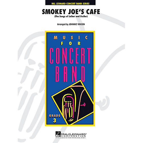 Hal Leonard Smokey Joe's Cafe (the Songs Of Leiber And Stoller) Full Score Concert Band