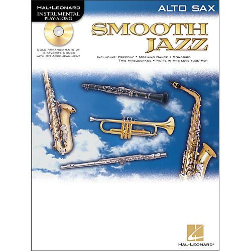 Hal Leonard Smooth Jazz for Alto Sax Book/CD