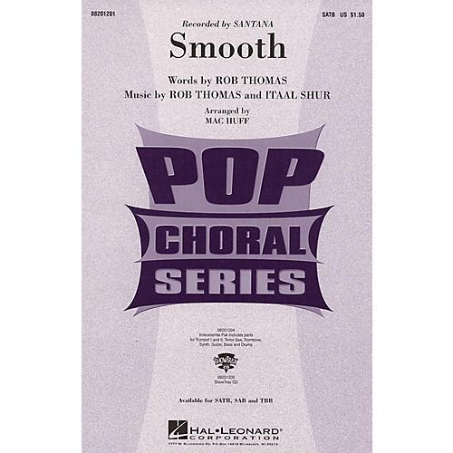 Hal Leonard Smooth SATB by Santana arranged by Mac Huff