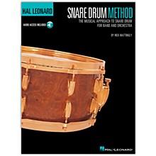 Hal Leonard Snare Drum Method Book/Online Audio