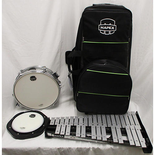 Mapex Snare Drum/bell Percussion Kit With Bag Concert Xylophone