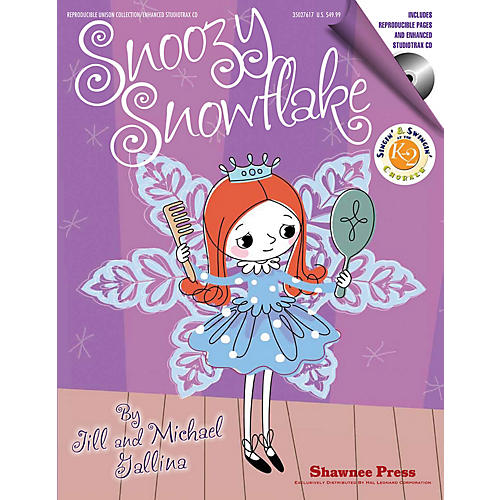 Shawnee Press Snoozy Snowflake REPRO COLLECT UNIS BOOK/CD Composed by Jill Gallina