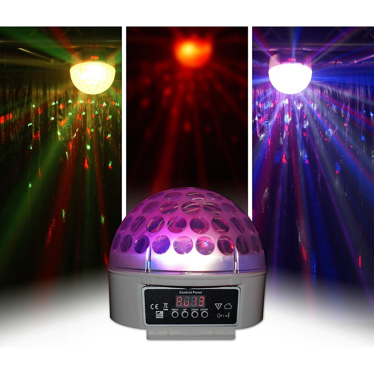 Blizzard Snowball DMX RGBW LED Multi Beam Effect Light