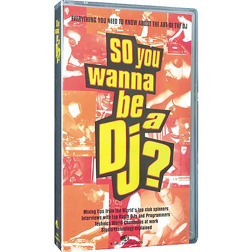 DMC So You Wanna Be A DJ Instructional VHS Video