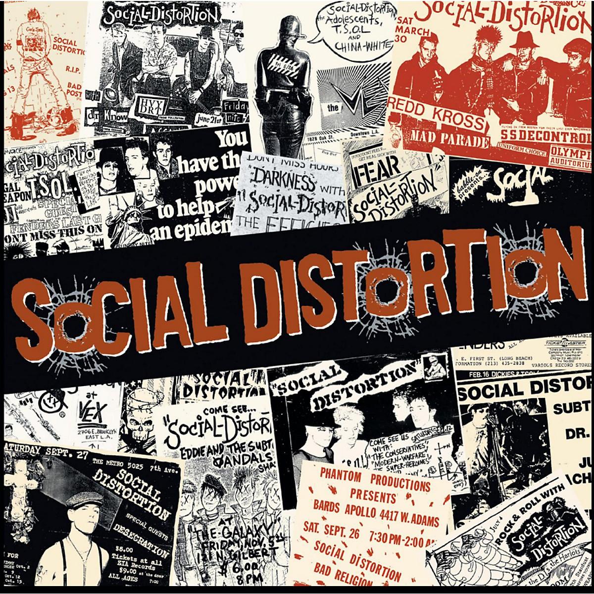 C&D Visionary Social Distortion Magnet - Newspaper
