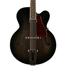 Gibson Custom Solid-Formed 17 Venetian Cutaway Archtop Hollowbody Electric Guitar Regular Trans Black Burst