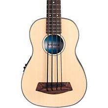Kala Solid Top Acoustic-Electric U-Bass Level 1 Natural
