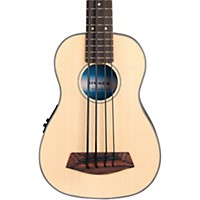 Deals on Kala Solid Top Acoustic-Electric U-Bass Natural