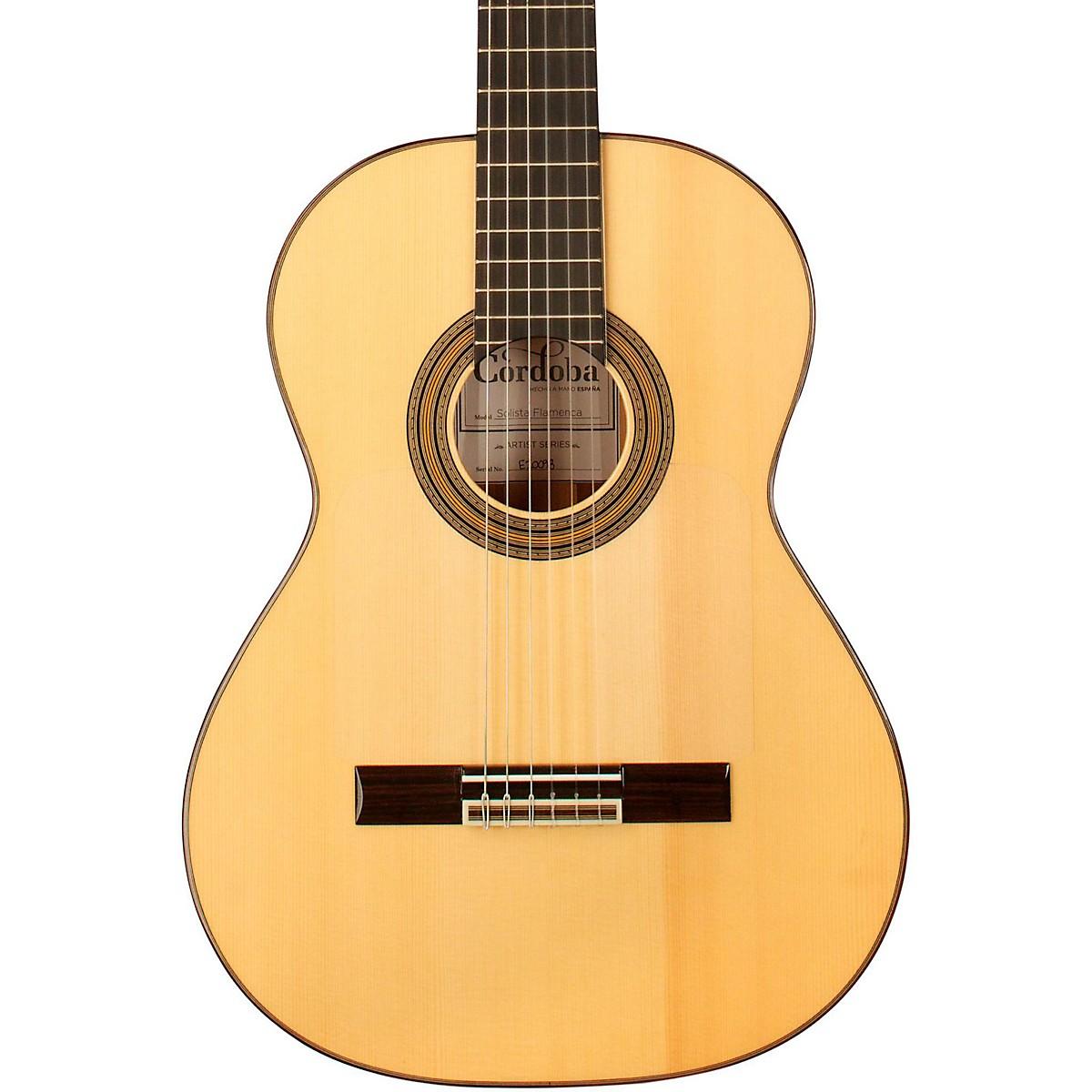 Cordoba Solista Flamenca Acoustic Nylon String Flamenco Guitar