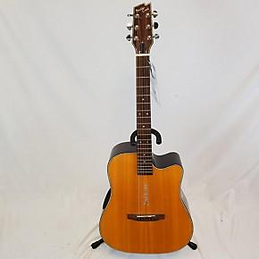 used boulder creek solitaire ecr2 v acoustic electric guitar natural guitar center. Black Bedroom Furniture Sets. Home Design Ideas
