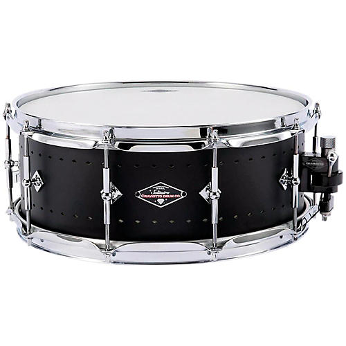 craviotto solitiare series snare drum 14x5 5 inch matte black guitar center. Black Bedroom Furniture Sets. Home Design Ideas