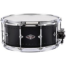 Solitiare Series Snare Drum 14x6.5 Inch Matte Black