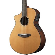 Breedlove Solo Concert Left-Handed Acoustic-Electric Guitar Level 1 Natural