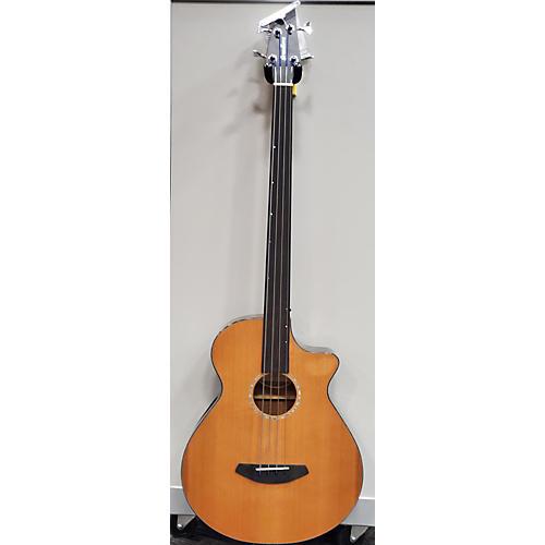 Breedlove Solo Jumbo Ce Fretless Acoustic Bass Guitar