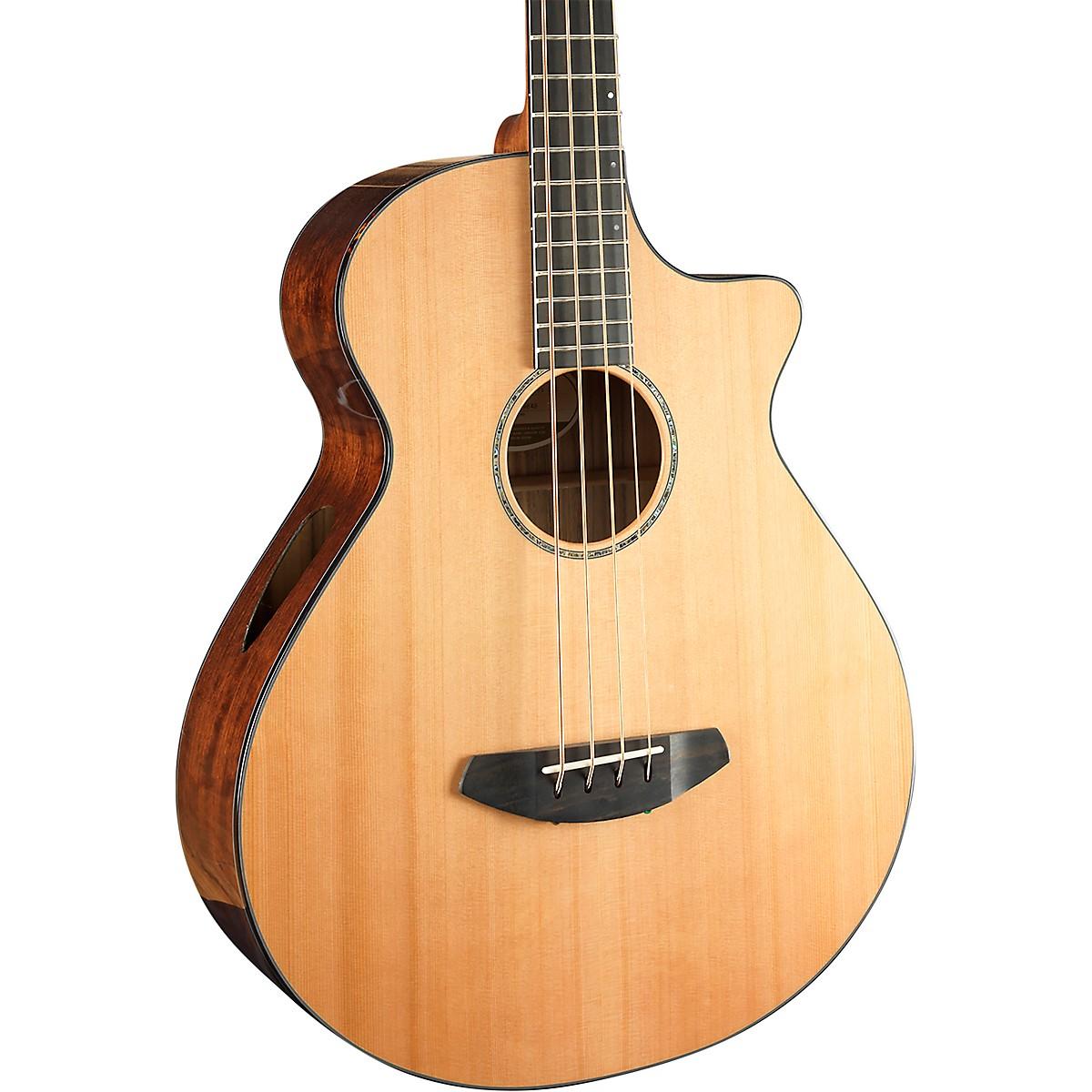 Breedlove Solo Jumbo Cutaway CE Acoustic-Electric Bass Guitar