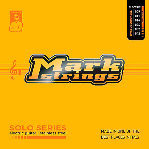 Markbass Solo Series Stainless Steel Electric Guitar Strings (9-42)