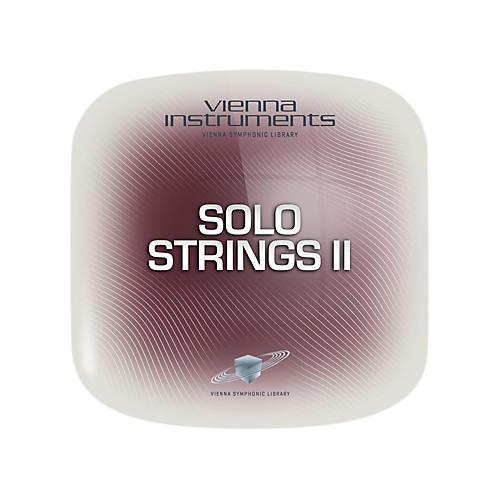Vienna Instruments Solo Strings II Standard Software Download