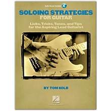 Hal Leonard Soloing Strategies for Guitar (Book/Online Audio)