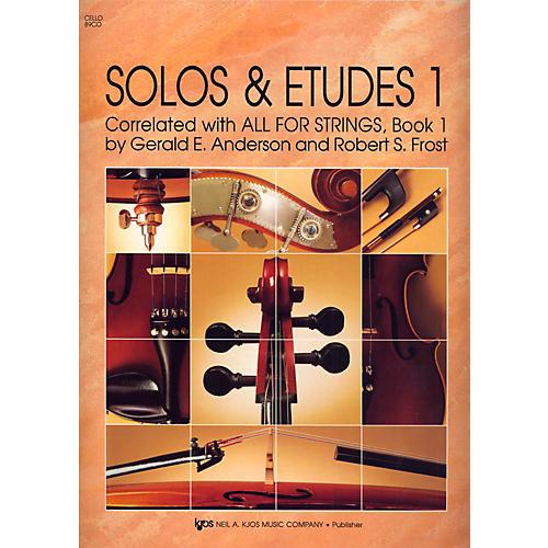 KJOS Solos And Etudes, BK1/CELLO