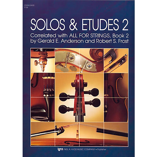 KJOS Solos And Etudes-BOOK 2/STRG BASS