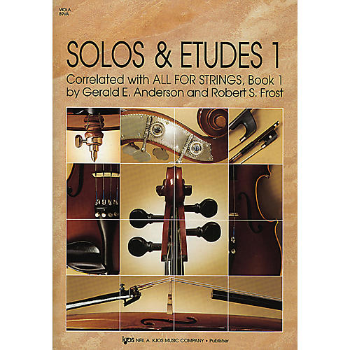 KJOS Solos And Etudes Book1