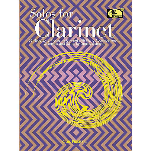 Carl Fischer Solos For Clarinet Book