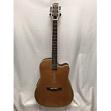 Boulder Creek Soltaire ECR4-NS Acoustic Electric Guitar