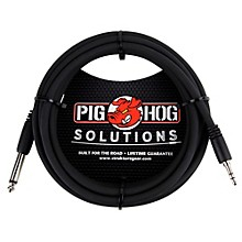 "Pig Hog Solutions 3.5mm TRS to 1/4"" Mono Adapter Cable (10 ft.)"