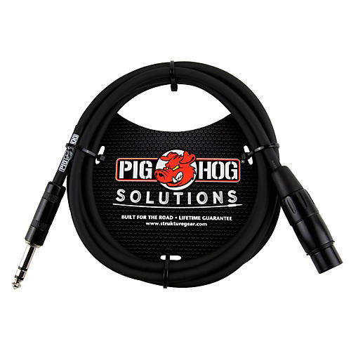 Pig Hog Solutions TRS(M) to XLR(F) Balanced Adapter Cable
