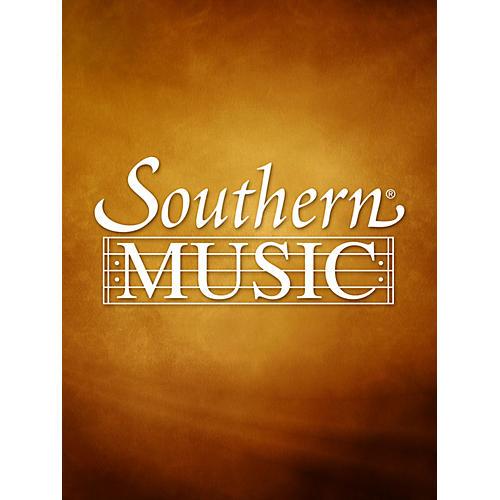 Southern Sonata (Alto Sax) Southern Music Series  by Burnet Tuthill