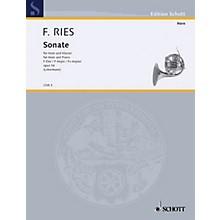 Schott Sonata F Major Op. 34 (Horn and Piano) Schott Series