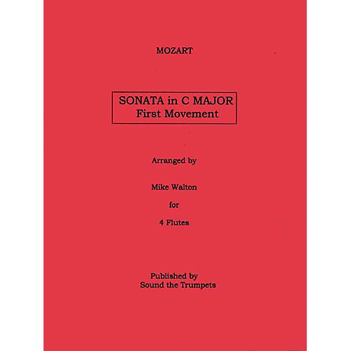 Carl Fischer Sonata In C Major Mvt.1 (Book + Sheet Music)