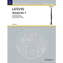 Schott Sonata No. 1 (1802) from Méthode de Clarinette Schott Series