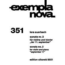 Sikorski Sonata No. 2 for Violin and Piano (September 11) String Series