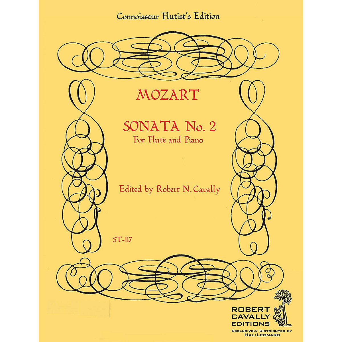 Cavally Editions Sonata No. 2 in G (Connoisseur Flutist's Edition) Robert Cavally Editions Series by Robert Cavally