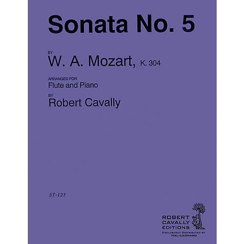Cavally Editions Sonata No. 5 in E minor (Connoisseur Flutist's Edition) Robert Cavally Editions Series by Robert Cavally
