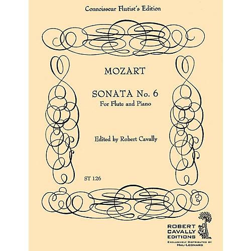 Cavally Editions Sonata No. 6 in Bb (Connoisseur Flutist's Edition) Robert Cavally Editions Series by Robert Cavally