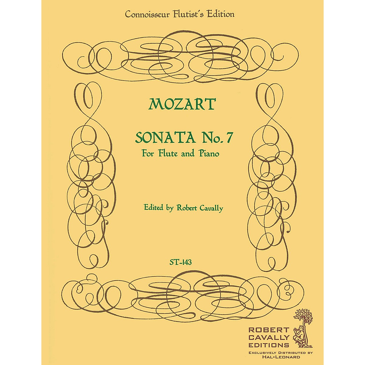 Cavally Editions Sonata No. 7 in Eb (Connoisseur Flutist's Edition) Robert Cavally Editions Series by Robert Cavally