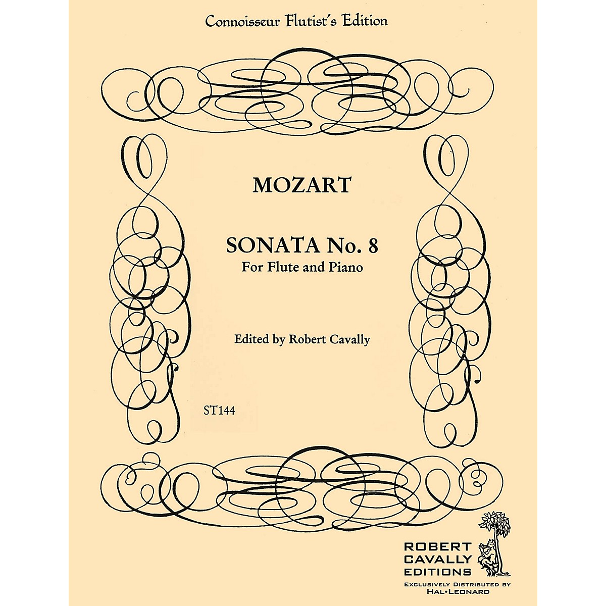 Cavally Editions Sonata No. 8 in F (Connoisseur Flutist's Edition) Robert Cavally Editions Series by Robert Cavally