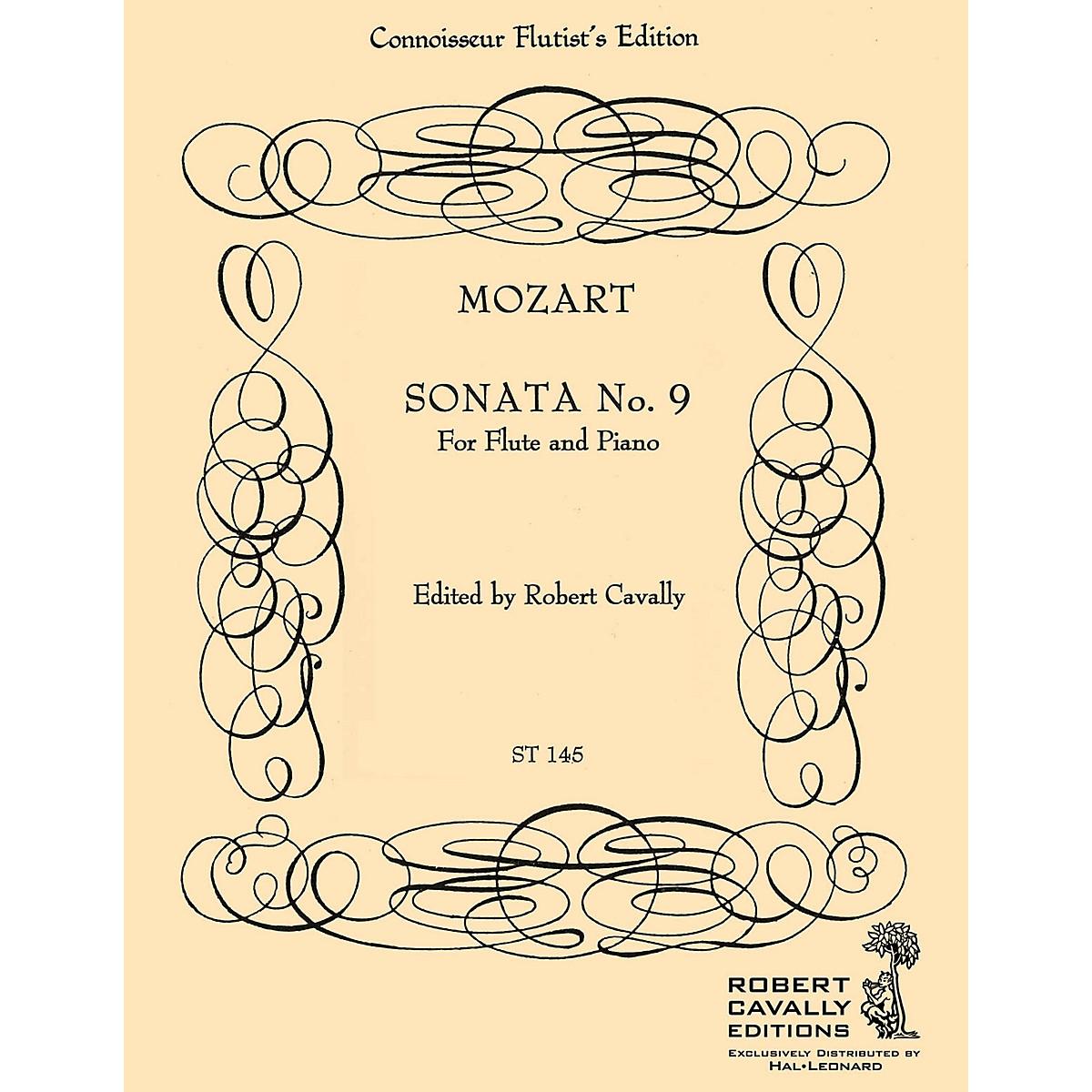 Cavally Editions Sonata No. 9 in C (Connoisseur Flutist's Edition) Robert Cavally Editions Series by Robert Cavally