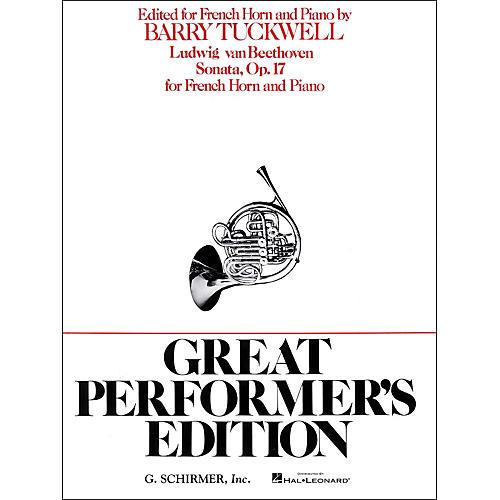 G. Schirmer Sonata Op17 F Hrn/Pno Great Performers Edition