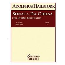 Southern Sonata da Chiesa (String Orchestra Music/String Orchestra) Southern Music Series by Arcangelo Corelli